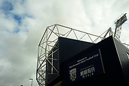 a General View of outside The Hawthorns stadium .Premier league match, West Bromwich Albion v West Ham United at the Hawthorns stadium in West Bromwich, Midlands on Saturday 16th September 2017. pic by Bradley Collyer, Andrew Orchard sports photography.