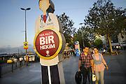 Turkije, Istanbul, 16-2011Verkiezingscampagne van de ak partij van de turkse premier Erdohan in Istanbul in de aanloop naar de verkiezingen voor het parlement op 16 juni. Foto: Flip Franssen