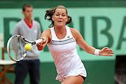 Roland Garros. Paris, France. May 30th 2012.Pole player Agnieszka RADWANSKA against Venus WILLIAMS.