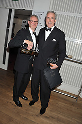 Left to right, CHRIS CORBIN and JEREMY KING winners of the Entrepreneur of The Year Award at the GQ Men of The Year Awards 2012 held at The Royal Opera House, London on 4th September 2012.