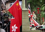 Hong Kong Handover July 1, 1997