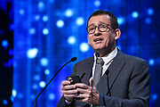 Brussels , 01/02/2020 : Les Magritte du Cinema . The Academie Andre Delvaux and the RTBF, producer and TV channel , present the 10th Ceremony of the Magritte Awards at the Square in Brussels .<br /> Pix: Dany Boon<br /> Credit : Alexis Haulot - Dana Le Lardic - Didier Bauwerarts - Frédéric Sierakowski - Olivier Polet / Isopix