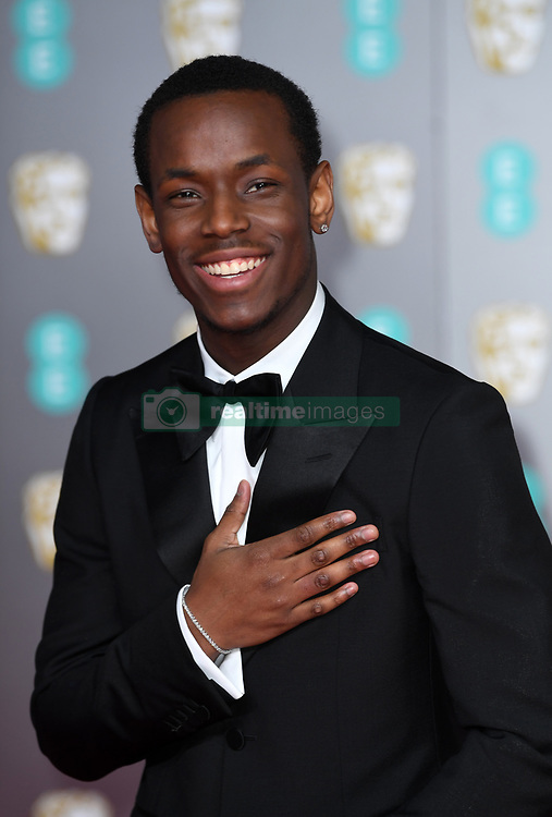 Michael Ward attending the 73rd British Academy Film Awards held at the Royal Albert Hall, London. Photo credit should read: Doug Peters/EMPICS Entertainment
