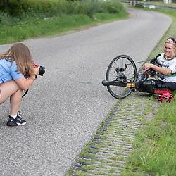WESTERHAAR (NED) July 27 th  Paracycling <br />Jennette Jansen gaar voor de 7e keer naar de Paralympics in Tokyo. Na 5 keer Rolstoelbasketbal nu voor de tweede keer als paracyclist.