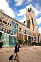Sapporo Station is the central focus of all transporation in Sapporo.   It is served by Hakodate Main Line and other lines of Hokkaid? Railway Company and is also connected to the Sapporo Subway System. .It also has the tallest building, JR Tower, in Hokkaid?.