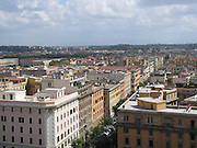 Italy, Rome, The Vatican Museum view of the city