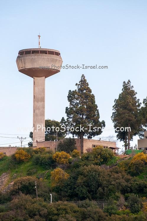 Forest fire observation tower, Israel, Kfar Hananya, Galilee, Israel