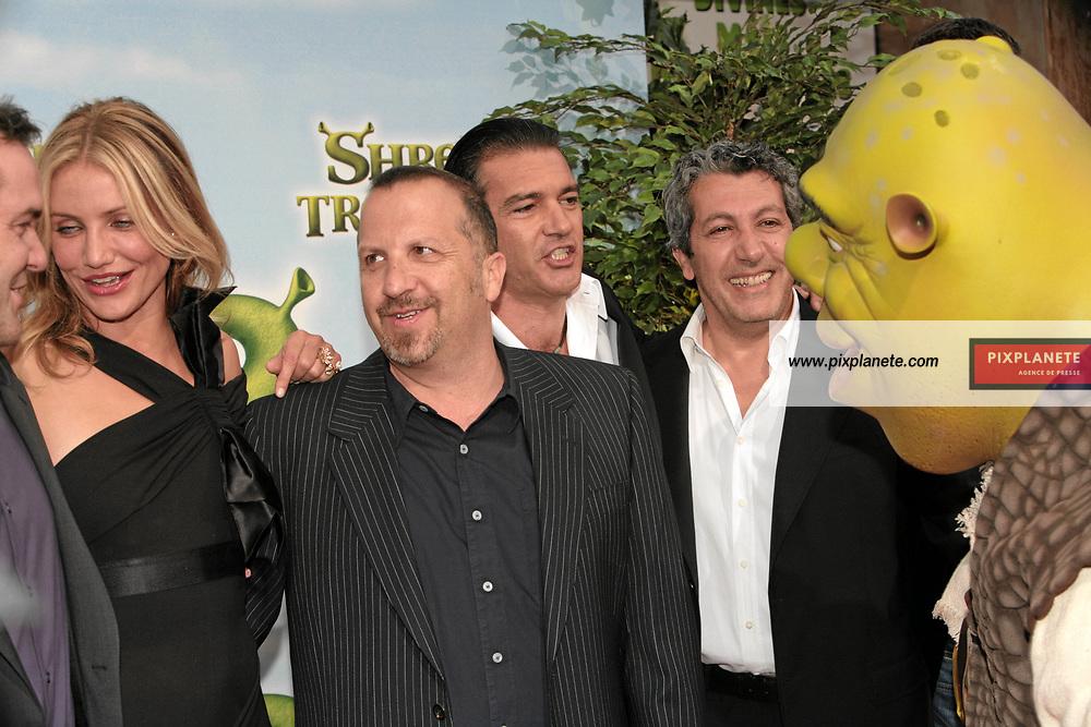 Shrek - Antonio Banderas - Avant Première à Paris du troisième volet de Shrek - 7/6/2007 - JSB / PixPlanete