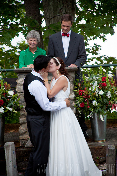 Maine Wedding Photography at Wavus Camp in Jefferson