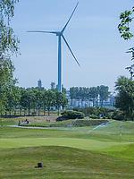 BRIELLE -  Hole 17. Kleiburg , golfbaan.  COPYRIGHT KOEN SUYK