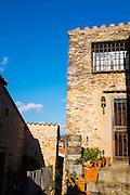 Houses in Castelnou, Pyrenees Orientales, France