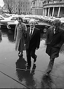 TDs arrive for the opening session of the 23rd Dáil...9-03-82.03-09-1982.9th March 1982..Pictured At Leinster House. ..Galway West Labour Party Michael D Higgins accompanied by wife Sabina Higgins