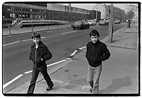 Kids in the Rotherhithe area, 1982. South-East London, 1982
