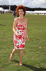 CLEO ROCCOS  at the Cartier International polo at Guards Polo Club, Windsor Great Park, on 30th July 2006.<br />