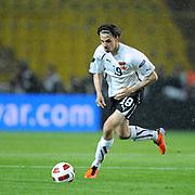 Austria's Martin HARNIK during their UEFA EURO 2012 Qualifying round Group A soccer match Turkey betwen Austria at Sukru Saracoglu stadium in Istanbul March 29, 2011. Photo by TURKPIX