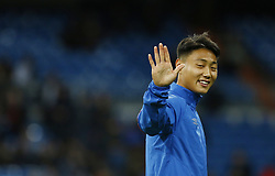 January 24, 2019 - Madrid, Madrid, Spain - Peak Seung-Ho seen before the Copa del Rey Round of quarter-final first leg match between Real Madrid CF and Girona FC at the Santiago Bernabeu Stadium in Madrid, Spain. (Credit Image: © Manu Reino/SOPA Images via ZUMA Wire)
