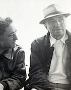 two men talking USA 1940s