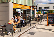 Coffeelink cafe at Whisstocks property development Woodbridge, Suffolk, England, UK