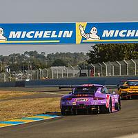 #57, Porsche 911 RSR, Team Project 1, drivers: Jeroen Bleekemolen, Felipe Fraga, Ben Keating, LM GTE Am, FP!, at the Le Mans 24H, 2020