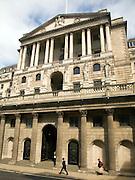 The Bank of England, Threadneedle Street, City of London, London