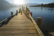 Pier, Lake Wanaka, Wanaka, South Island, New Zealand