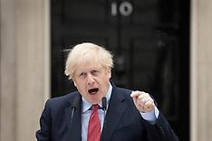 Boris Johnson Back at Work - 27 April 2020