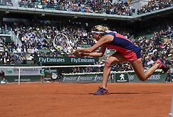 June 6, 2017 - Roland Garros Porte D Auteuil, France - 10e  journee :Timea Bacsinszky (Credit Image: © Panoramic via ZUMA Press)