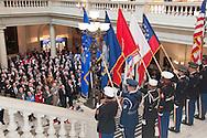 Vietnam Veterans Day in Georgia - A tribute to Georgia Vietnam Medal of Honor Recipients, Atlanta, Georgia - Joint Honor Guard Geoergia Department of Defense
