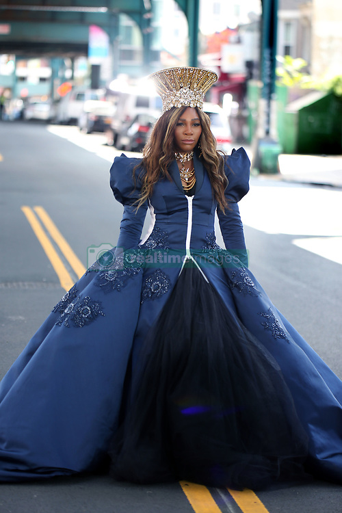 EXCLUSIVE: Serena Williams films Beats headphone commercial. 21 Aug 2018 Pictured: Serena Williams. Photo credit: SteveSands/NewYorkNewswire/MEGA TheMegaAgency.com +1 888 505 6342