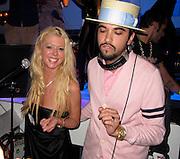 Tara Reid and DJ Cassidy..VIP Room Nightclub..St. Tropez, France..Thursday, July 29, 2010..Photo ByiSnaper.com/ CelebrityVibe.com.To license this image please call (212) 410 5354; or Email:CelebrityVibe@gmail.com ;.website: www.CelebrityVibe.com.