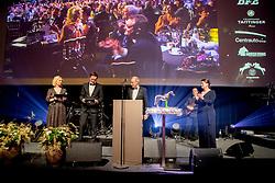 Equistar of the Year, Bernard Fonck, François Mathy, Stefaan Lammens, Ophélie Fontana<br /> Equigala - Dockx Dome - Brussel 2019<br /> © Hippo Foto - Dirk Caremans<br /> 23/01/2019