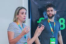Monica Moura e Saulo Barbosa