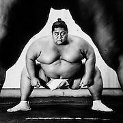 Konishiki Yasokichi, Sumo Wrestler. Photographed by Brian Smale for Esquire Magazine.