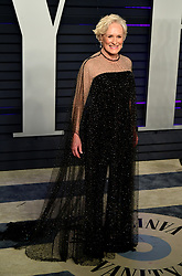 Glenn Close attending the Vanity Fair Oscar Party held at the Wallis Annenberg Center for the Performing Arts in Beverly Hills, Los Angeles, California, USA.