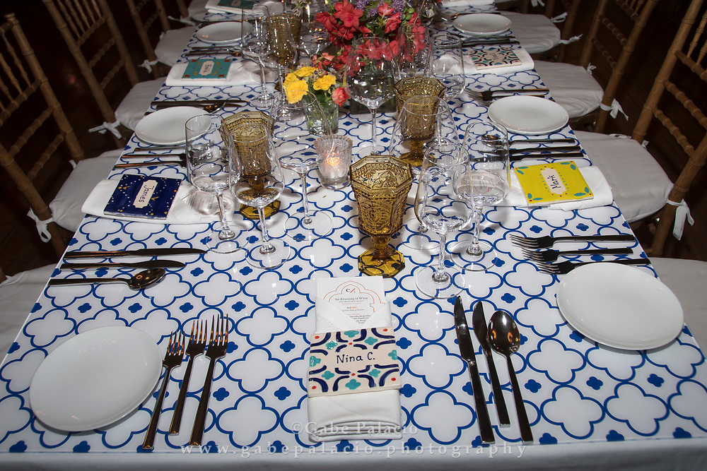 An Evening of Wine, a benefit for Caramoor's education programs, at the Rosen House at  Caramoor in Katonah New York on May 20, 2017. <br /> (photo by Gabe Palacio)