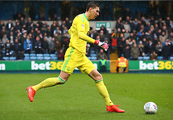 March 30, 2018 - London, England, United Kingdom - Nottingham Forest's Costel Pantilimon .during Championship match between Millwall against Nottingham Forest at The Den stadium, London  England on 30 March  2018. (Credit Image: © Kieran Galvin/NurPhoto via ZUMA Press)