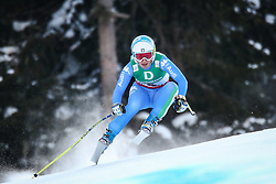 10.02.2013, Planai, Schladming, AUT, FIS Weltmeisterschaften Ski Alpin, Abfahrt, Damen, im Bild Nadia Fanchini (ITA) // Nadia Fanchini of Italy in action during the ladies Downhill at the FIS Ski World Championships 2013 at the Planai Course, Schladming, Austria on 2013/02/10. EXPA Pictures © 2013, PhotoCredit: EXPA/ Johann Groder