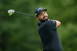 May 30, 2019 - Dublin, OH, U.S. - DUBLIN, OH - MAY 30: J.J. Spaun plays his shot from the 18th tee during the Memorial Tournament presented by Nationwide at Muirfield Village Golf Club on May 30, 2018 in Dublin, Ohio. (Photo by Adam Lacy/Icon Sportswire) (Credit Image: © Adam Lacy/Icon SMI via ZUMA Press)