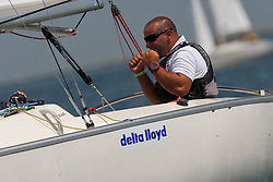 Medemblik - the Netherlands, July 10th 2010. Delta Lloyd IFDS Worlds 2010 (9/14 July 2010). Day two, race three and four.