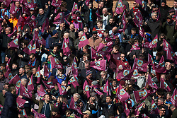 General view of Burnley fans - Mandatory by-line: Jack Phillips/JMP - 13/04/2019 - FOOTBALL - Turf Moor - Burnley, England - Burnley v Cardiff City - English Premier League