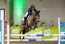 Van Biesen Leon, BEL, Pallieter<br /> Nationaal Indoorkampioenschap  <br /> Oud-Heverlee 2020<br /> © Hippo Foto - Dirk Caremans