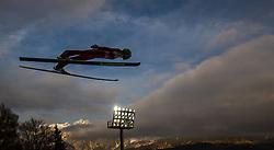 06.01.2014, Paul Ausserleitner Schanze, Bischofshofen, AUT, FIS Ski Sprung Weltcup, 62. Vierschanzentournee, Probesprung, im Bild Peter Prevc (SLO) // Peter Prevc (SLO) during Trial Jump of 62nd Four Hills Tournament of FIS Ski Jumping World Cup at the Paul Ausserleitner Schanze, Bischofshofen, Austria on 2014/01/06. EXPA Pictures © 2014, PhotoCredit: EXPA/ JFK