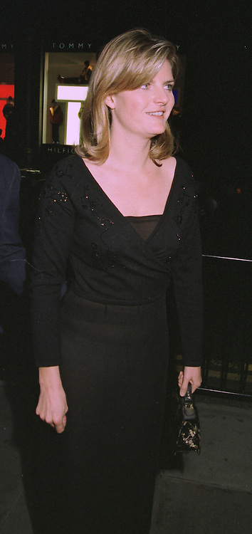 MRS STEN BERTELSEN she was Susannah Constantine a good friend of Viscount Linley, at a party in London on 15th October 1997.MCB 24