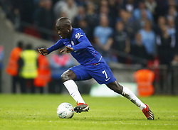February 24, 2019 - London, England, United Kingdom - Chelsea's N'Golo Kante.during during Carabao Cup Final between Chelsea and Manchester City at Wembley stadium , London, England on 24 Feb 2019. (Credit Image: © Action Foto Sport/NurPhoto via ZUMA Press)