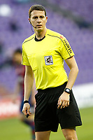 Spanish referee Medie Jimenez during La Liga Second Division match. March 11,2017. (ALTERPHOTOS/Acero)
