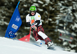 Rok Marguc of Slovenia competes during Men's Parallel Giant Slalom at FIS World Championships of Snowboard and Freestyle 2015, on January 23, 2015 at the WM Piste in Kreischberg, Austria. Photo by Vid Ponikvar / Sportida