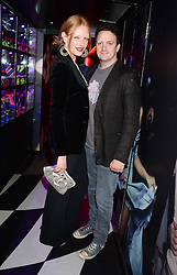 OLIVIA INGE and PETE DAVIES at a party to celebrate the launch of Charlie Gilkes and Duncan Stirling's new nightclub 'Disco' at 13 Kingly Court, London on 26th June 2013.