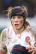 29 Feb 2010 Esher, Surrey: England's Joanna McGilchrist looks on during the Women's Six Nations game between England and Ireland at Esher Rugby Club (photo by Andrew Tobin/SLIK images)