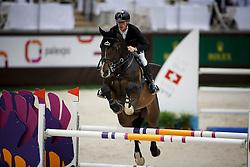 Ehning Marcus, (GER), Cordynox <br /> Prix des Communes Genevoises<br /> Genève 2015<br /> © Hippo Foto - Dirk Caremans<br /> 11/12/15