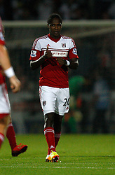 Fulham's Hugo Rodallega celebrates his goal - Photo mandatory by-line: Matt Bunn/JMP - Tel: Mobile: 07966 386802 27/08/2013 - SPORT - FOOTBALL - Pirelli Stadium - Burton - Burton Albion V Fulham -  Capital One Cup - Round 2
